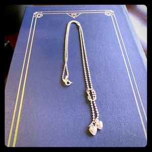 Jewelry - Silver knotted heart necklace